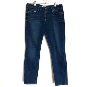 Paige Skyline Ankle Peg Jeans Size 31